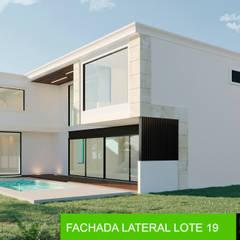 RESIDENCIA EN MÉRIDA YCC-LOTE 19: Casas unifamiliares de estilo  por AIDA TRACONIS ARQUITECTOS EN MERIDA YUCATAN MEXICO