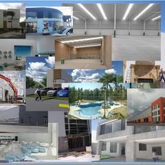 Construcción y Remodelación: Espacios comerciales de estilo  por RoGer Real Estate Brokers & Contractors