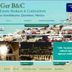 Construcción y Remodelación: Oficinas y tiendas de estilo  por RoGer Real Estate Brokers & Contractors