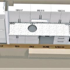BambuDeco – mutfak tasarım örneklerimiz:  tarz Mutfak üniteleri