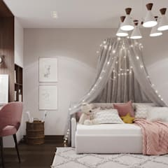 Girls Bedroom by 3D GROUP,