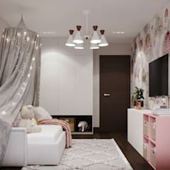 Girls Bedroom by 3D GROUP