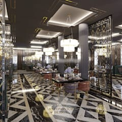 Restaurantes de estilo  por Студия Luxury Antonovich Design