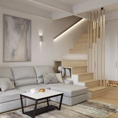 Stairs by ligrandesign.ru, Scandinavian