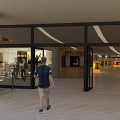 Escuela de Cine B212: Estudios y oficinas de estilo  por DUSINSKY S.A.