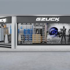 Diseño de Tienda Gzuck: Oficinas y Comercios de estilo  por AUTANA arquitectos