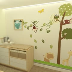 Baby room by JR DECOR - Design de Interiores