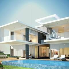 Villas by TNHH xây dựng và thiết kế nội thất AN PHÚ CONs 0911.120.739, Asian Concrete