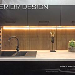 Projekt salonu stylizacji fryzur: styl , w kategorii Powierzchnie handlowe zaprojektowany przez Korulczyk Luxury Design
