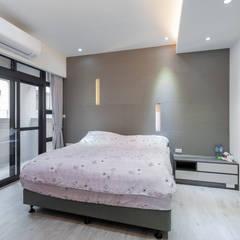 غرف نوم صغيرة تنفيذ 藏私系統傢俱