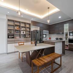 Keukenblokken door 藏私系統傢俱