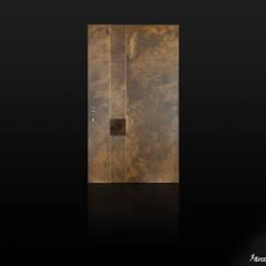 Front doors توسطErcole Srl, مدرن مس/ برنز/ برنج