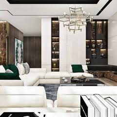 PERFECT BALANCE | Wnętrza rezydencji: styl , w kategorii Salon zaprojektowany przez ARTDESIGN architektura wnętrz