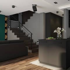 Dom w Szczodre koło Wrocławia: styl , w kategorii Schody zaprojektowany przez Nevi Studio
