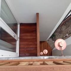 Nursery renovated into big family home.:  Huizen door Dineke Dijk Architecten