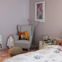 보헤미안 스타일 인테리어: 디아홀스 인테리어의  침실,