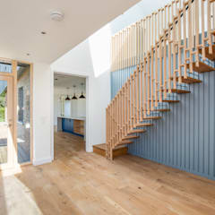 Loxley Stables:  Stairs by Thomas & Spiers Architects