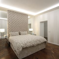 Projekty,  Małe sypialnie zaprojektowane przez JFD - Juri Favilli Design, Klasyczny