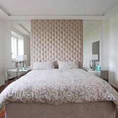 غرف نوم صغيرة تنفيذ JFD - Juri Favilli Design