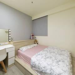 LIU House‧全民萬歲:  女孩房 by 元作空間設計