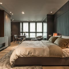 The Harbor House:  Bedroom by Chain10 Architecture & Interior Design Institute,