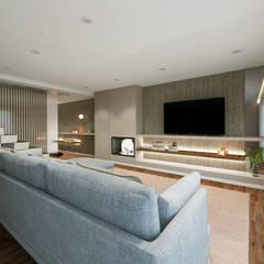 Moradia Lavra: Salas de estar  por MIA arquitetos,Moderno