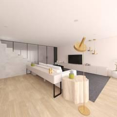 Salas de estilo minimalista de MIA arquitetos Minimalista