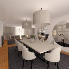 غرفة السفرة تنفيذ MIA arquitetos