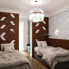 ห้องนอนขนาดเล็ก by DesArch Studio