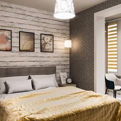 Квртира-студия в Шушарах: Маленькие спальни в . Автор – DesArch Studio,