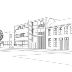 Stadswoning Maastricht:  Eengezinswoning door Verheij Architecten BNA