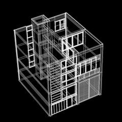 Stadswoning Maastricht:  Eengezinswoning door Verheij Architecten BNA,