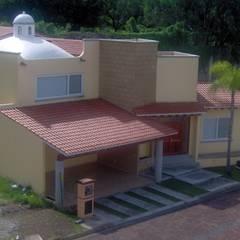 Jardines de Reforma : Casas multifamiliares de estilo  por A+P Arquitectos, El arte de crear espacios