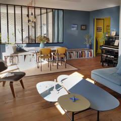 غرفة المعيشة تنفيذ Créateurs d'Interieur