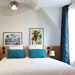 Rénovation Du0027un Appartement 4 Pièces 95m2 + Déco: Chambre De Style Par  Créateurs