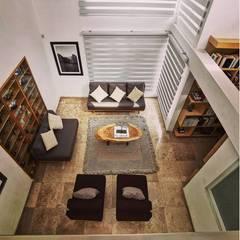 Remodelación de oficina : Edificios de Oficinas de estilo  por ortblanc construcciones sa de cv
