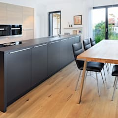 ห้องครัว โดย Bau-Fritz GmbH & Co. KG, โมเดิร์น