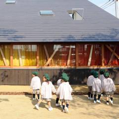 木の実幼稚園: モノスタ'70が手掛けた学校です。