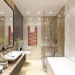 Baños de estilo  por ARTWAY центр профессиональных дизайнеров и строителей
