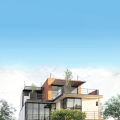 Arquitectos Ejecutivos의  일세대용 주택
