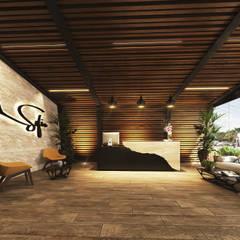 Sofía Project: Hoteles de estilo  por RAHE arquitectos