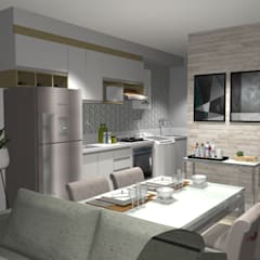 Cozinha planejada : Cozinhas pequenas  por Arq.im