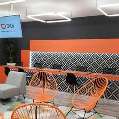 DiDiFoods Guadalajara: Estudios y oficinas de estilo  por NR Contruccion