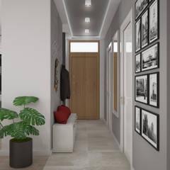 Dom na Maślicach we Wrocławiu: styl , w kategorii Korytarz, przedpokój zaprojektowany przez Nevi Studio,