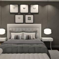 غرف نوم صغيرة تنفيذ Nkantus Interior Design
