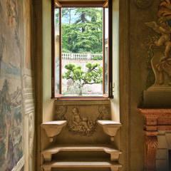 Projekty,  Okna drewniane zaprojektowane przez Ercole Srl