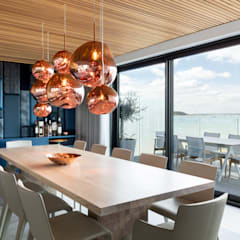 :  Dining room by WN Interiors