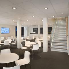 Centros de exhibiciones de estilo  por RAUMLOTSEN | Marken- und Innenarchitektur