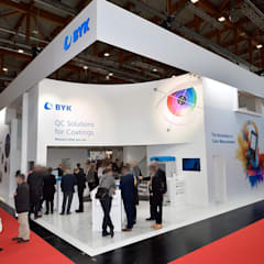 Exhibition centres by RAUMLOTSEN | Marken- und Innenarchitektur
