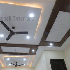 غرفة المعيشة تنفيذ Bluebell Interiors